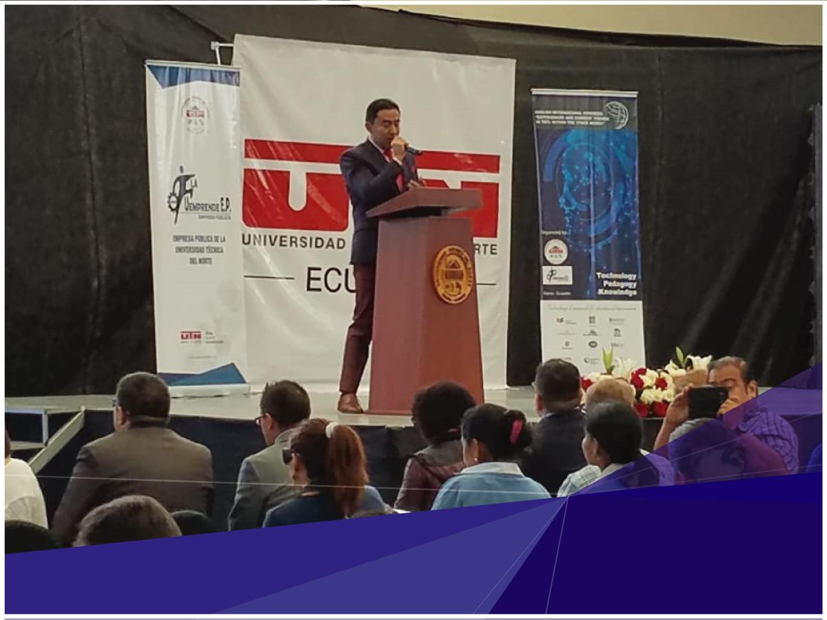 Docentes de Indoamérica participaron en el Congreso Internacional de Inglés 2019