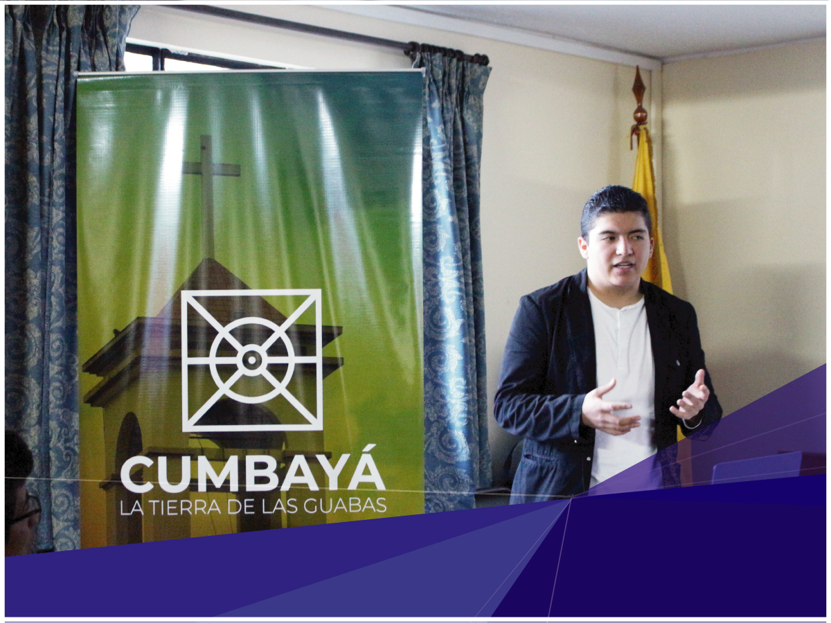 Carrera de Diseño Gráfico realizó entrega formal de proyecto de vinculación en el GAD de la parroquia de Cumbayá