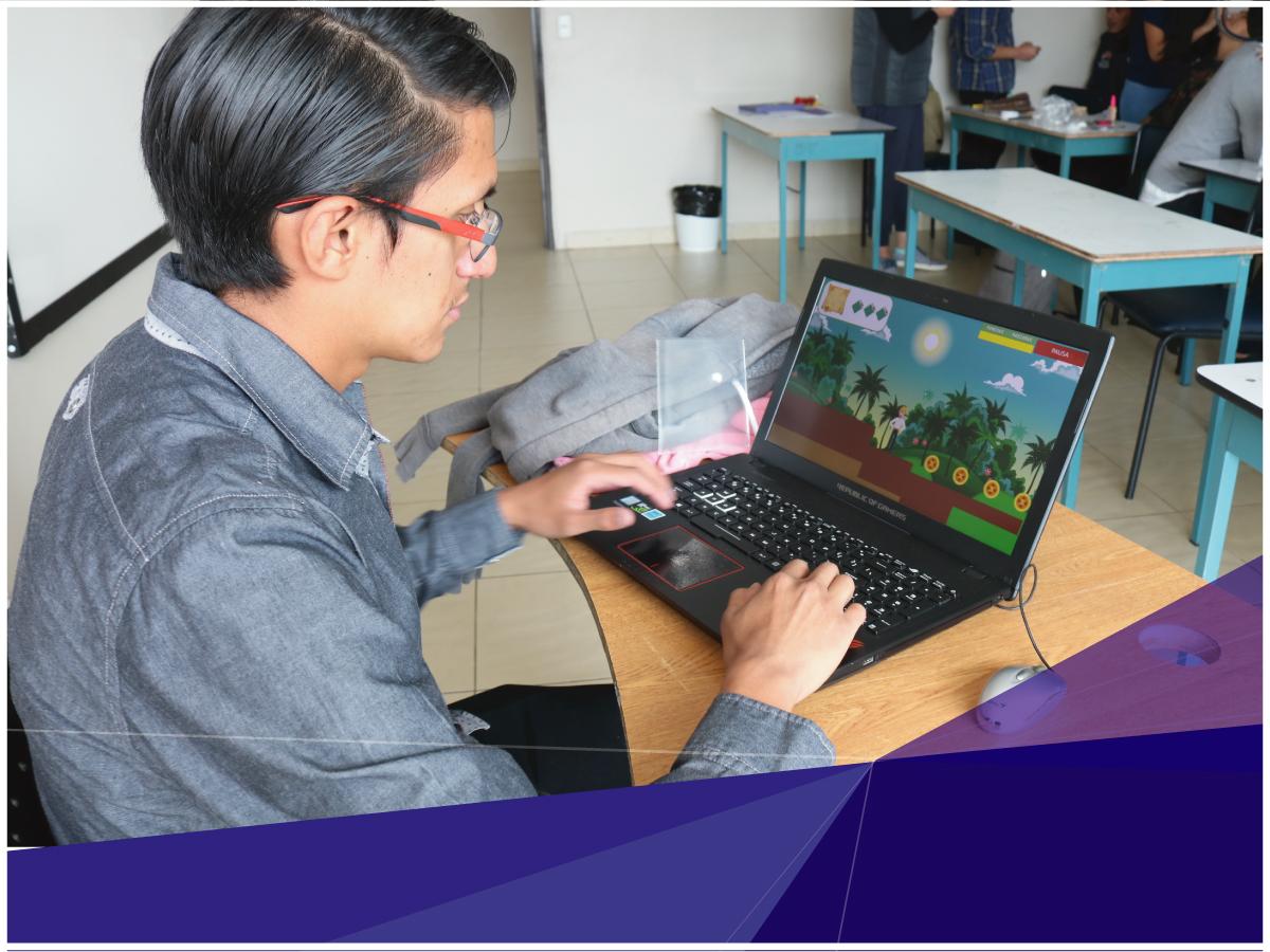 Estudiantes de Diseño Gráfico de Indoamérica desarrollan seis videojuegos que ayudan a conocer la cultura local de una forma divertida