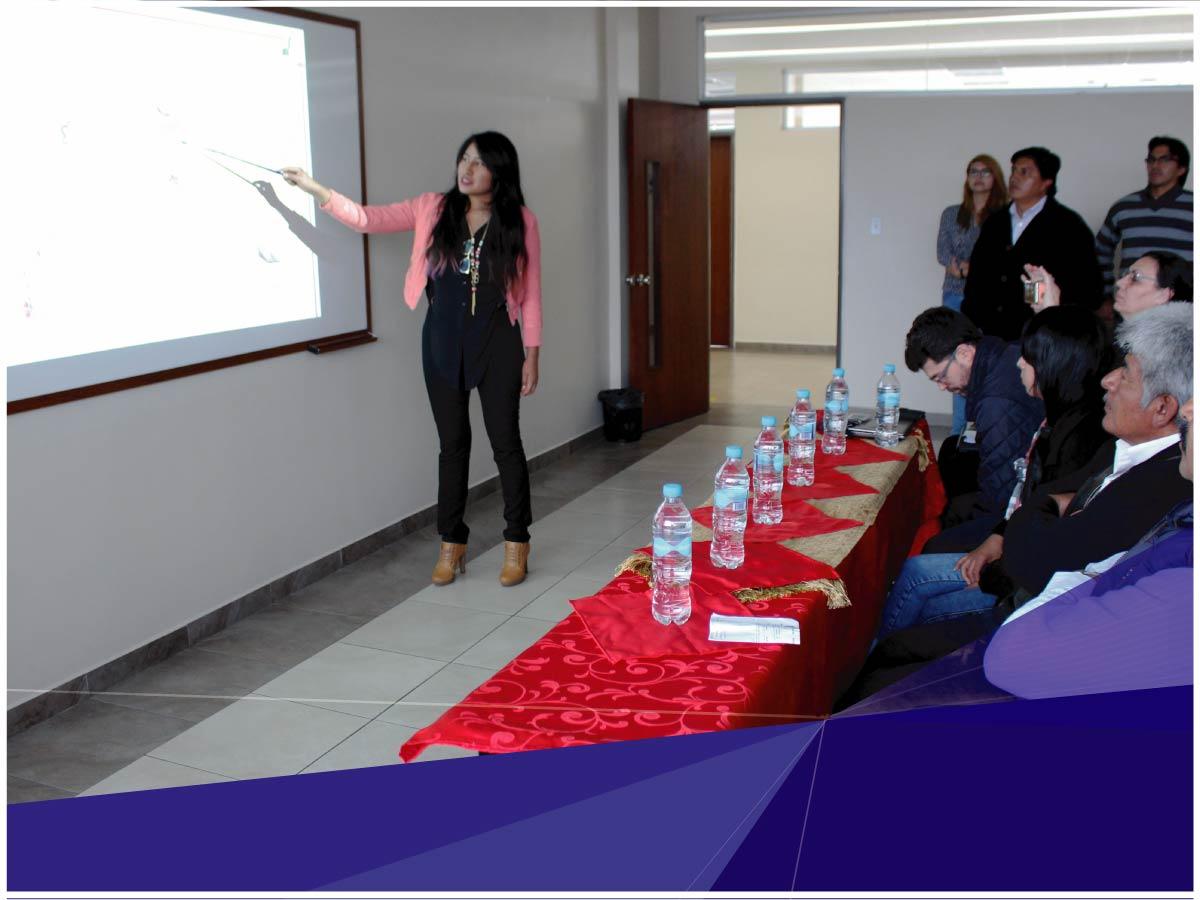 Estudiantes de la Universidad Indoamérica, presentan proyectos de vinculación