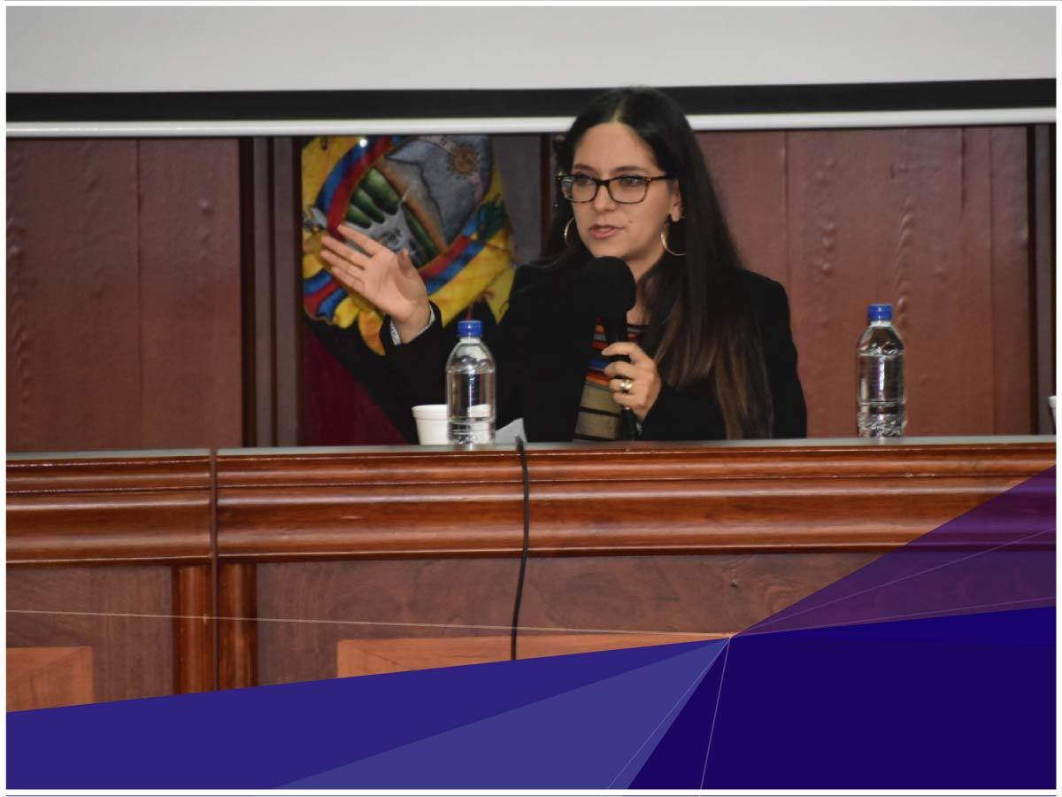 Docente- Investigadora de la Universidad Indoamérica participó en el Primer Congreso de Investigación en Ciencias Sociales