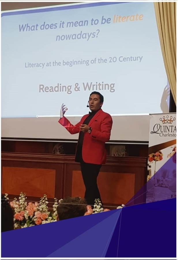 """Docentes de Indoamérica participaron en el 2º Congreso Internacional: """"Promover el aprendizaje activo en el aula de inglés como lengua extranjera: conectar la enseñanza, el aprendizaje y la investigación"""""""