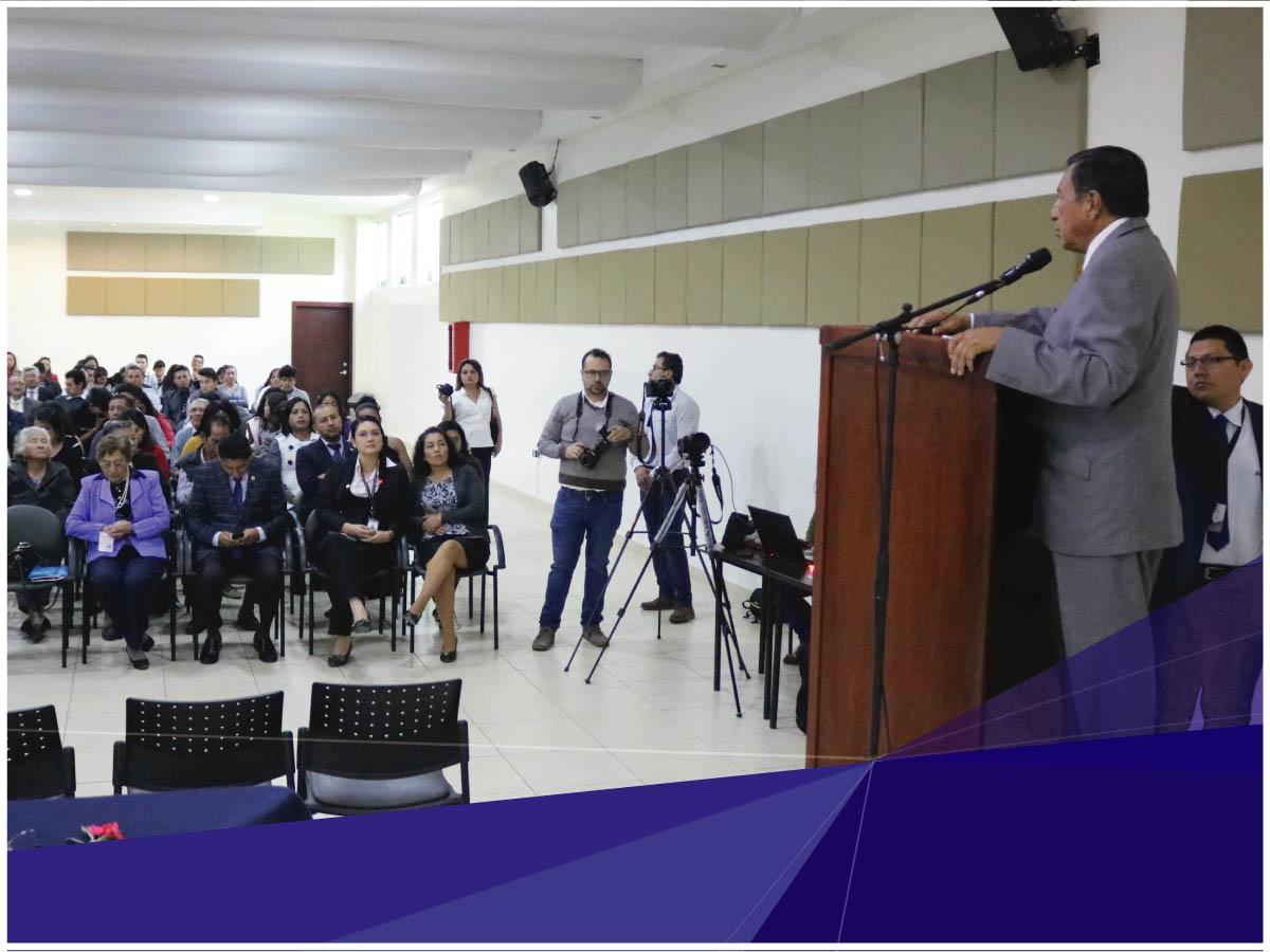 El Parlamento Gente del Nuevo Modelo de Gestión fue evaluado en la Universidad Indoamérica