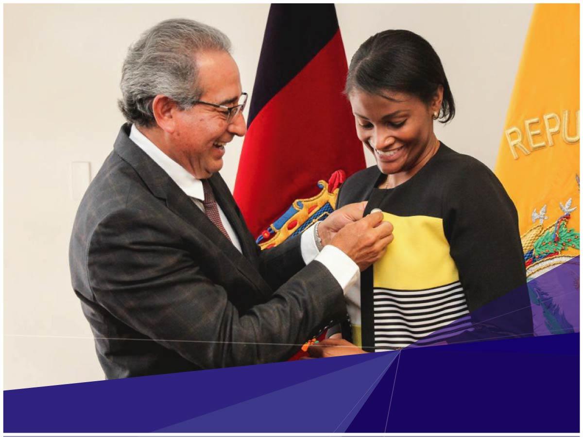 Máster de la Universidad Indoamérica es la nueva Fiscal General del Ecuador