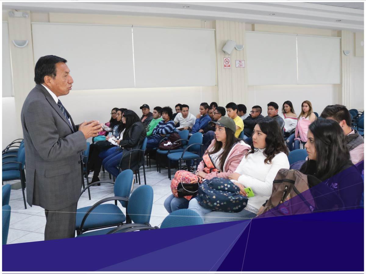 Estudiantes de Indoamérica reciben clases con investigadores reconocidos a nivel mundial