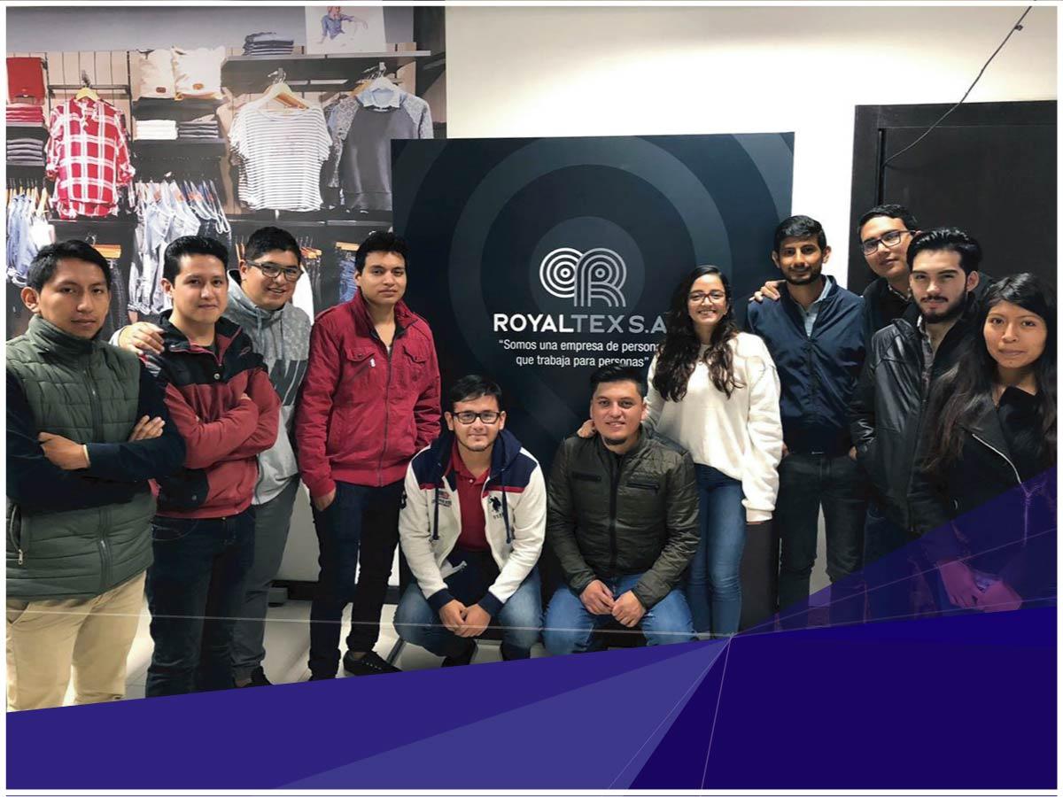 Estudiantes de Ingeniería Industrial iniciaron ciclo de visitas técnicas a industrias