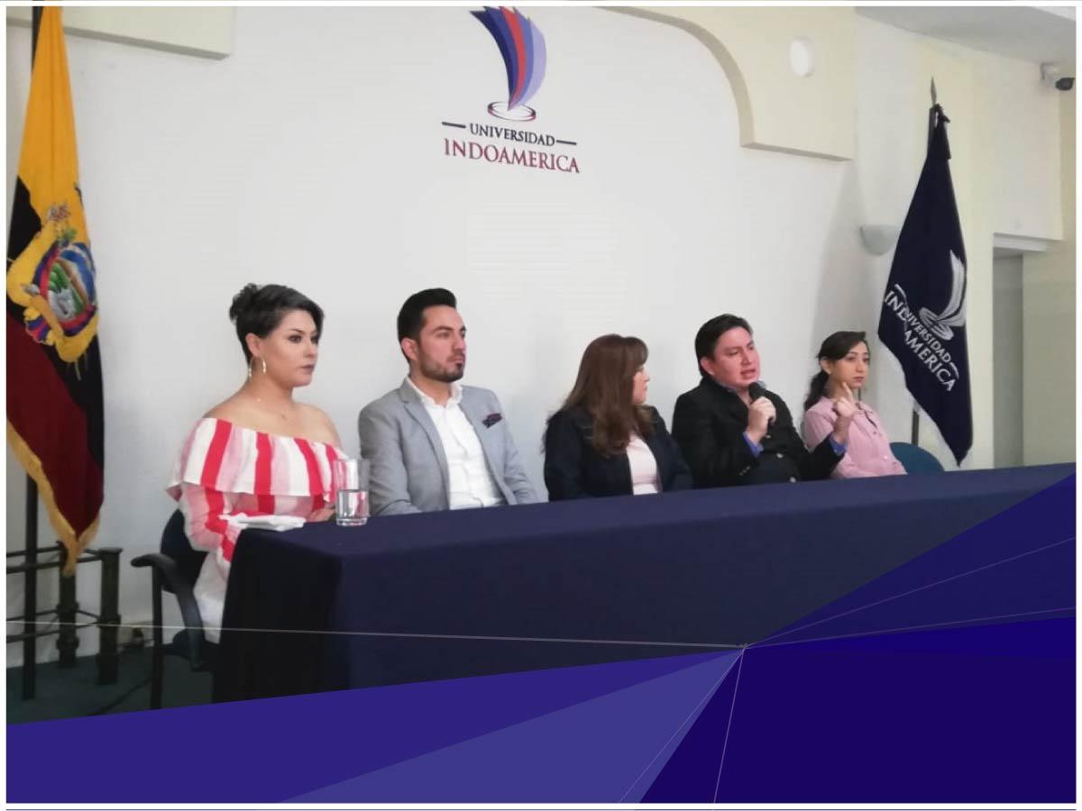 Exitosos graduados de Indoamérica participaron en eventos de emprendimiento