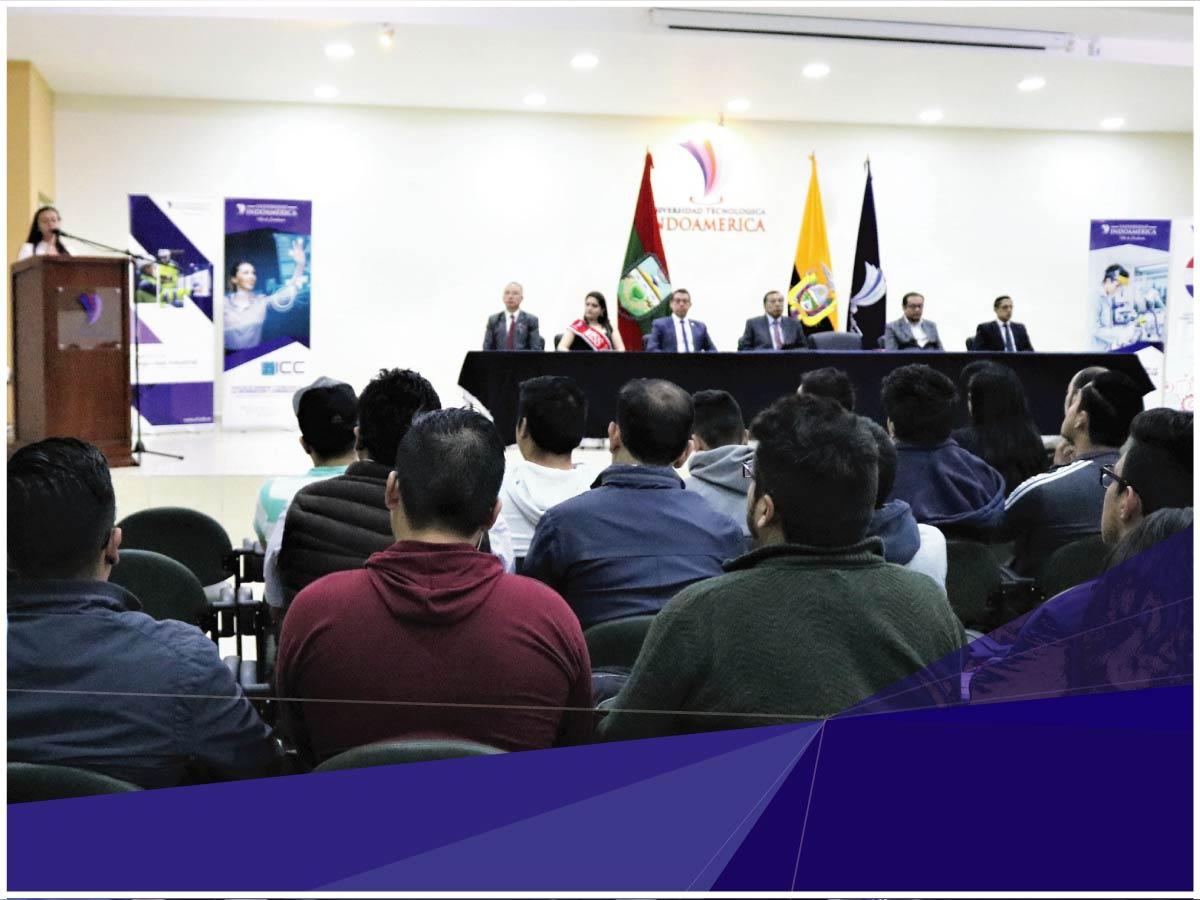Universidad Indoamérica inaugura el III Encuentro Internacional de Ciencia, Tecnología e Innovación UTI 2019