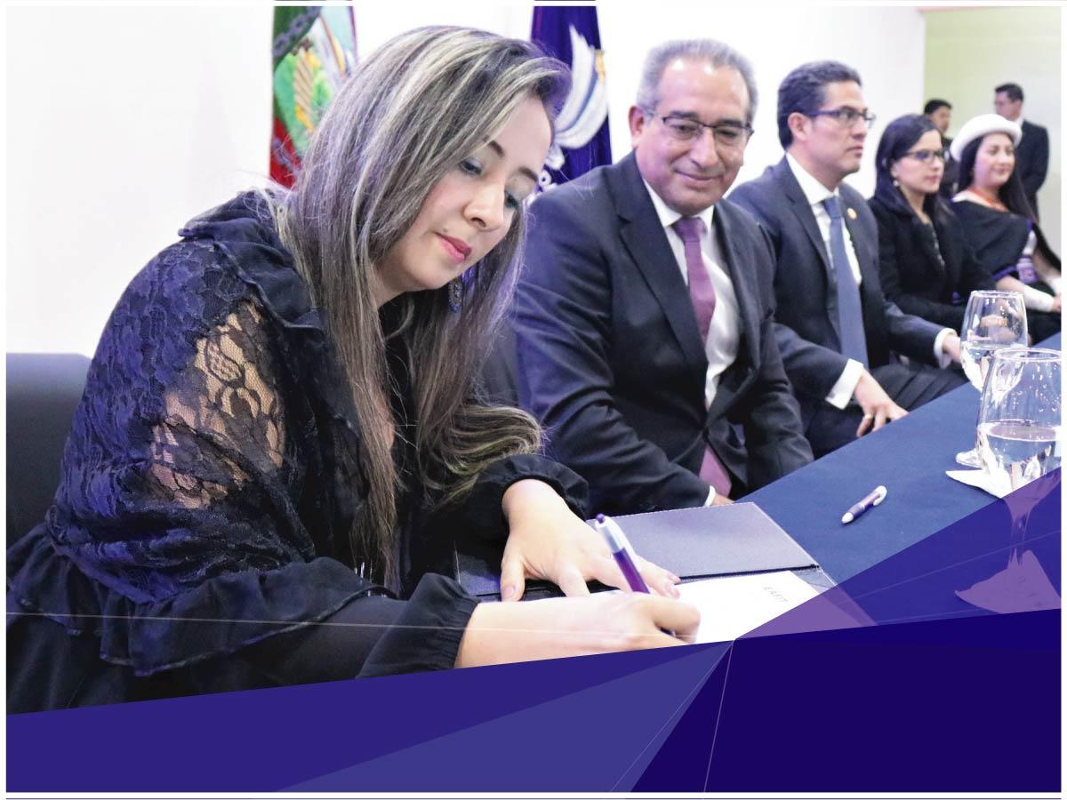 Indoamérica promueve la investigación y el intercambio estudiantil y académico con universidades de Colombia