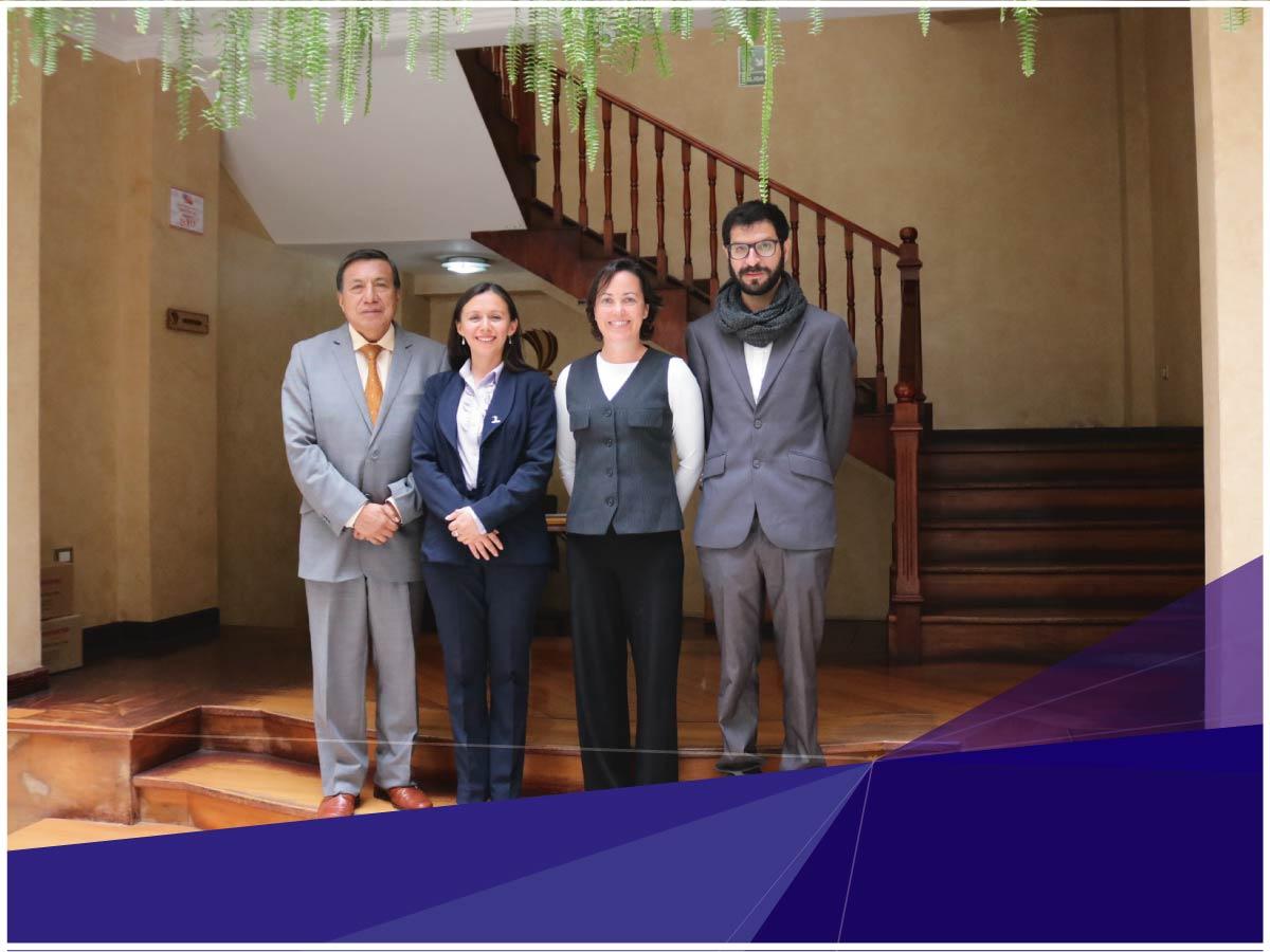 Universidad Indoamérica recibió visita de la Universidad Politécnica de Catalunya