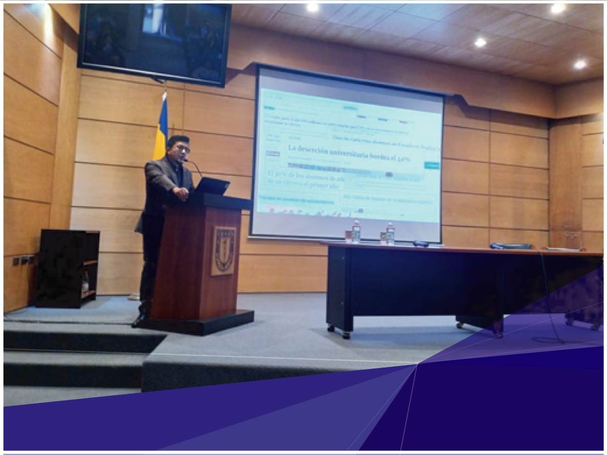 Investigador de Indoamérica fue conferencista en el Congreso XIX Jornadas Internacionales de Psicología Educacional