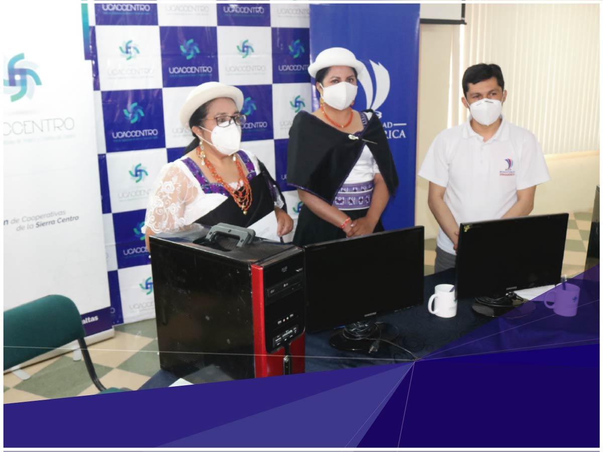 Computadoras donadas para niños de zonas rurales