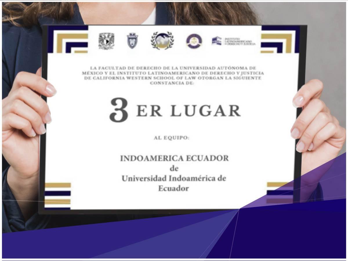 Indoamérica entre los primeros equipos en Mediación Penal en México