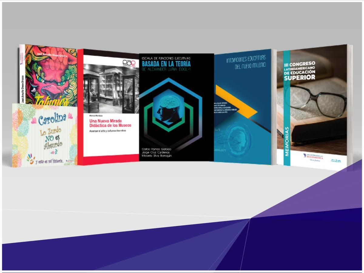 Indoamérica publica libros con alta relevancia investigativa