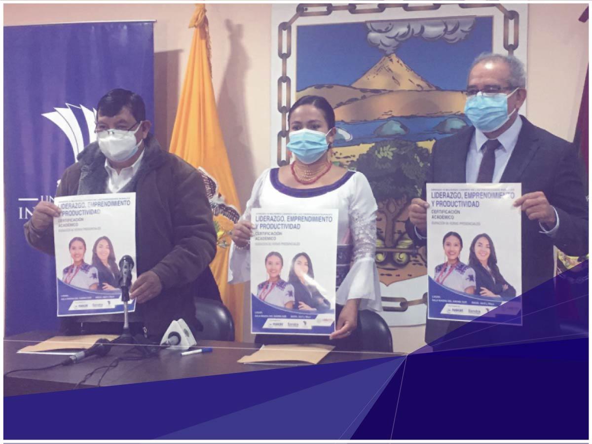 Universidad Indoamérica firma convenio interinstitucional con FUDICAT