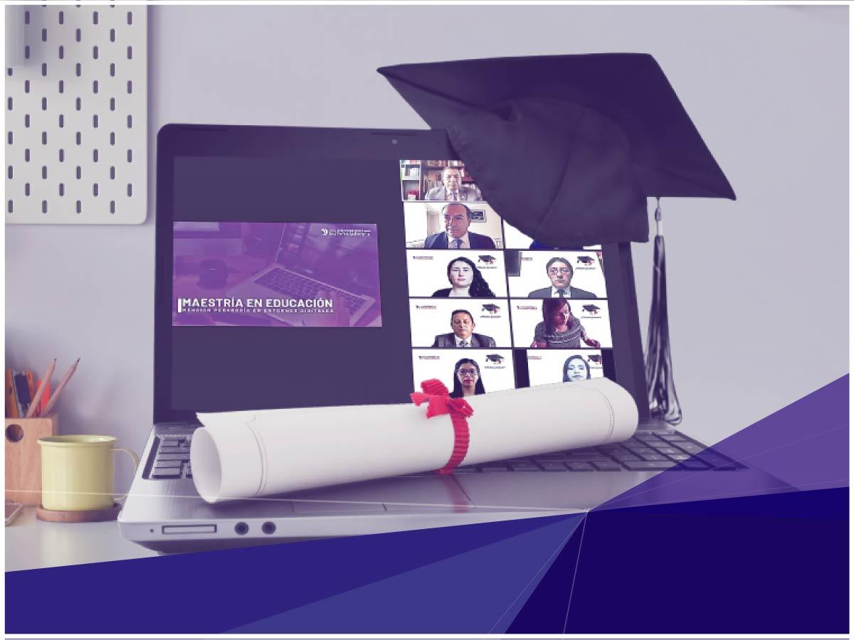 Indoamérica graduó a la primera cohorte de magísteres en Entornos Digitales