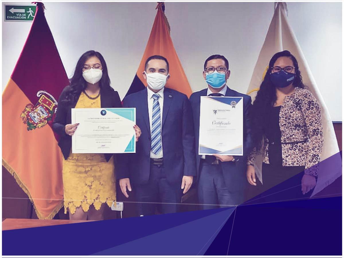Consultorio Jurídico gratuito de Indoamérica recibe reconocimiento de la Defensoría Pública